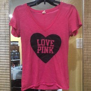 Love Pink Pajama Shirt